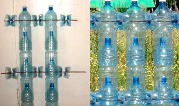 Что можно сделать из пластиковых бутылок для сада: 15 вариантов применения - каталог статей на сайте - домстрой