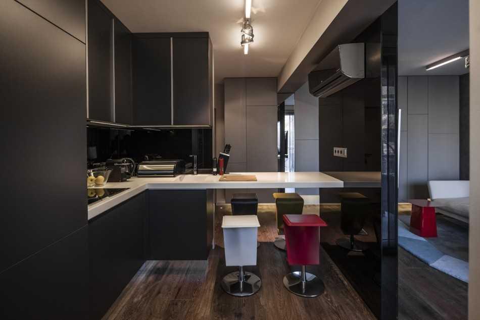 Создание дизайна однокомнатной квартиры 40 кв м своими руками