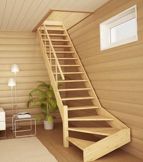 Лестница в частном доме на второй этаж | +120 лучших фото !!!
