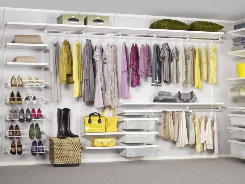 Шкаф гардеробный металлический: система хранения своими руками
