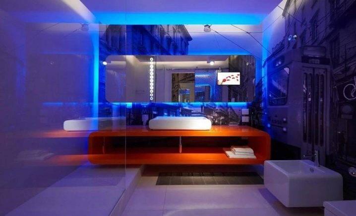 Особенности и преимущества полупрозрачных подвесных потолков с подсветкой