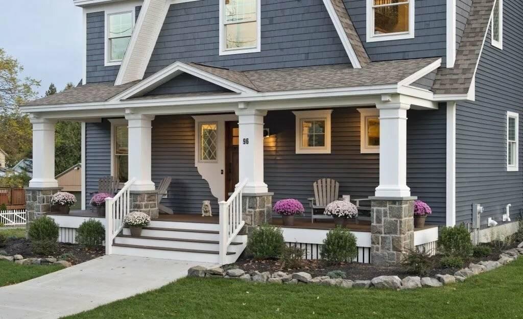 Обшивка домов сайдингом: фото вариантов отделки