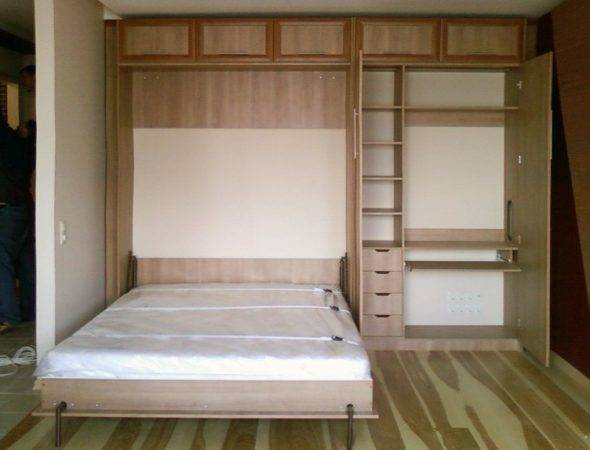 Шкаф-кровать своими руками: чтобы собрать самому в домашних условиях трансформер для малогабаритной квартиры нужно сделать корпус и собрать ложе с механизмом