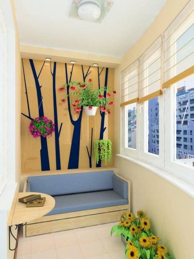 Как красиво оформить балкон — 26 фото