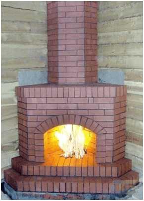 Как своими руками построить печь-камин