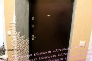 Обшивка дверей своими руками