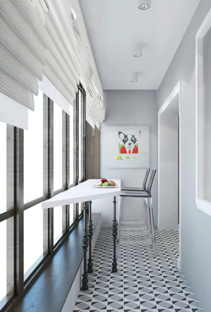 Дизайн интерьера лоджий,балконов, террас 500+ фотографий