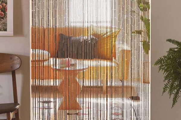 Шторы из бусин — вариант эффектного декора интерьеров, фото, новинки дизайна, эксклюзивные решения