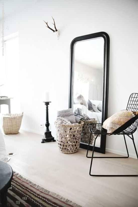 Напольное зеркало – идеальный размер и подбор оптимальной формы. 75 фото практичных советов по применению