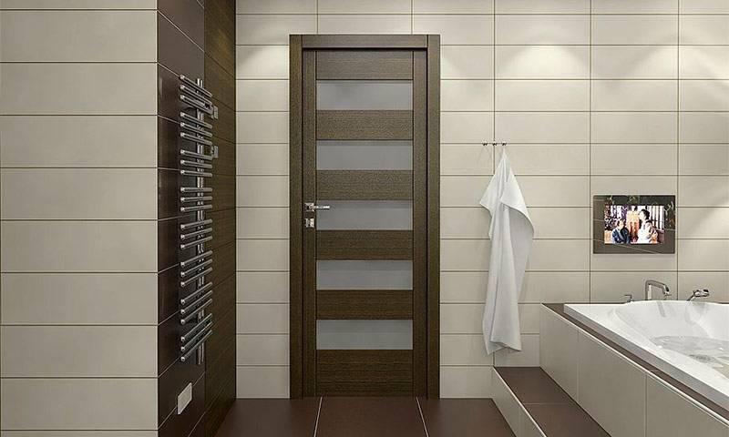 Двери для ванной раздвижные (38 фото) и туалета