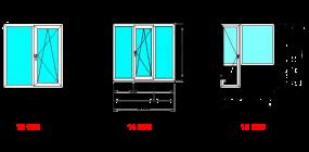 Каковы стандартные размеры пластиковых окон?