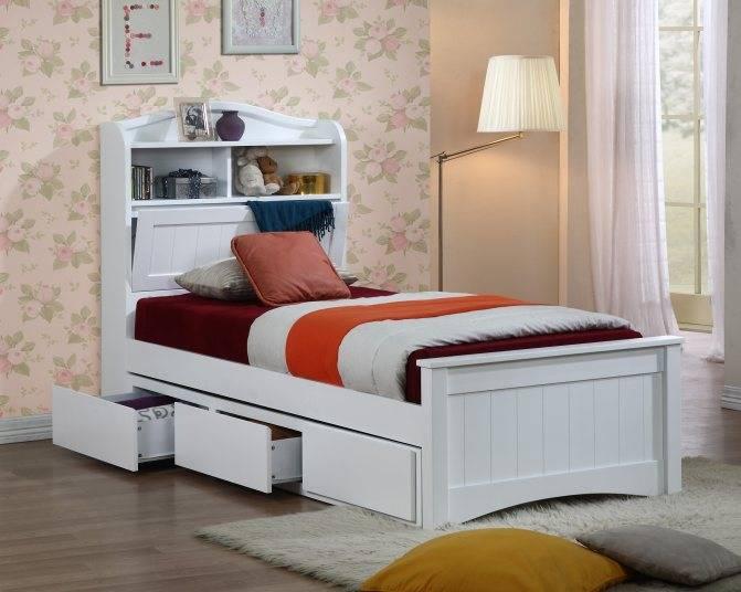 Односпальная кровать (70 фото): виды и модели, как выбрать - стильный и современный дизайн интерьера для вас