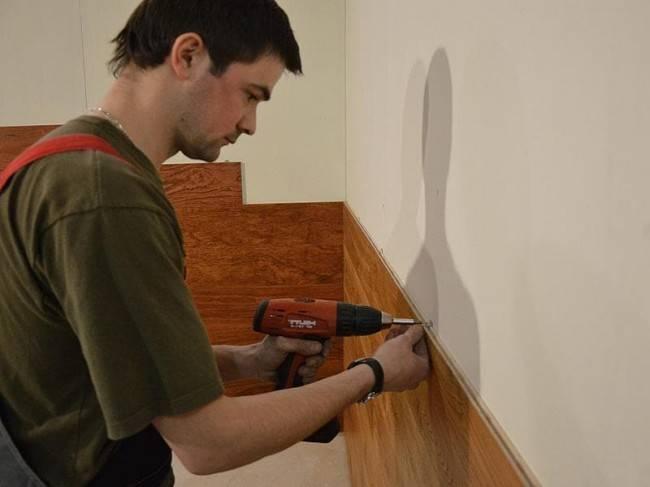 Как установить стеновую панель на кухне (49 фото): монтаж и установка, как крепить панель