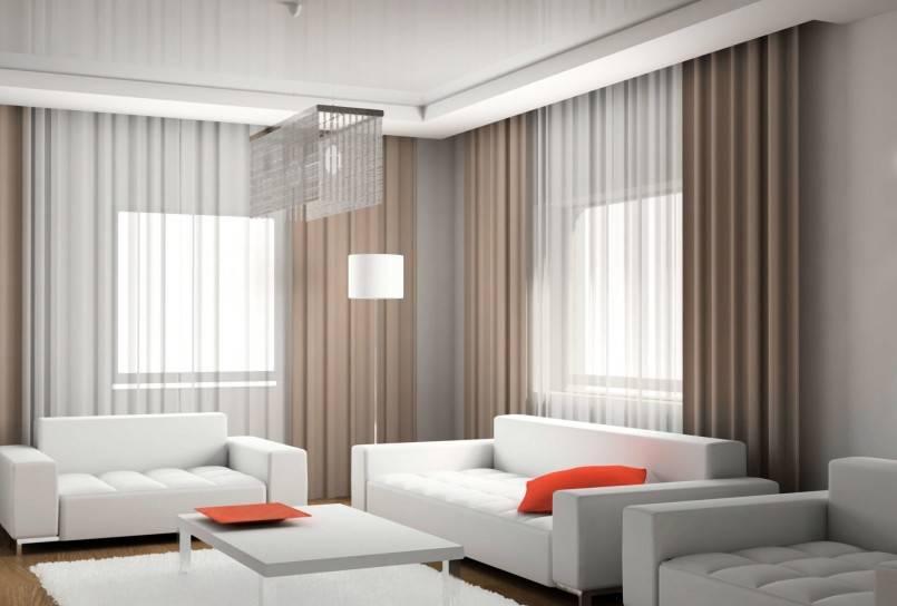 Шторы в стиле хай-тек - 128 фото вариантов занавесок и шторных полотнищ