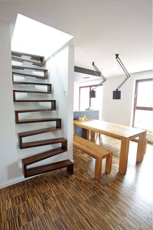 Лестница на чердак или мансарду – 60 креативных решений