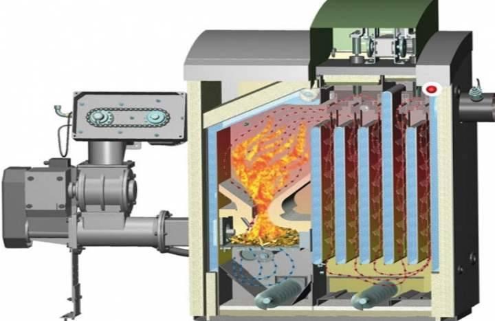 Шахтный котел длительного горения: устройство, принцип работы, чертежи