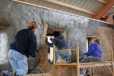 Штукатурка деревянного дома снаружи и внутри
