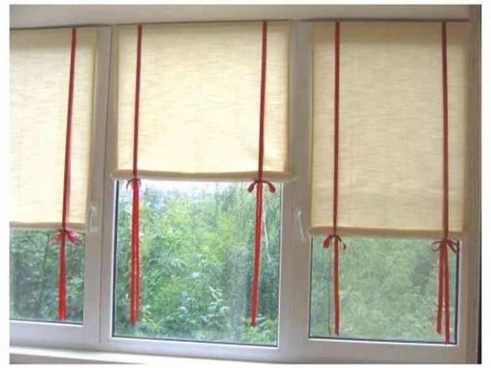 Как подобрать рулонные шторы на пластиковые окна (39 фото)