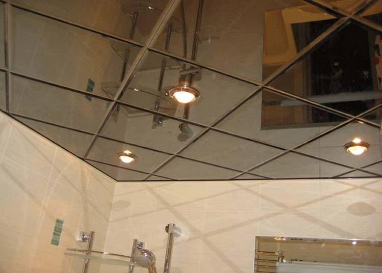 Зеркальный потолок - современные технологии в интерьере