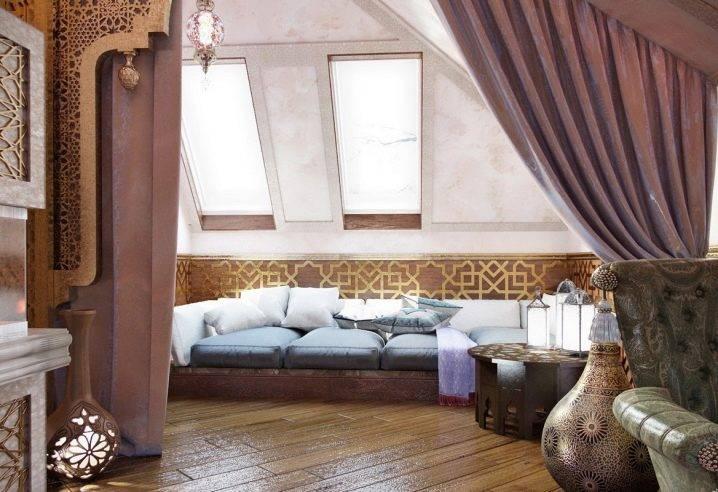 Дизайн мансарды фотогалерея интерьера в частном доме