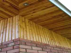 Подшивка свесов крыши: устройство софитов и других материалов для отделки + видео
