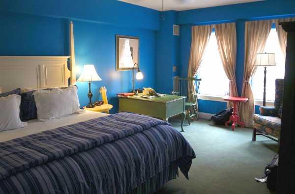 Синяя спальня - секреты элегантного оформления
