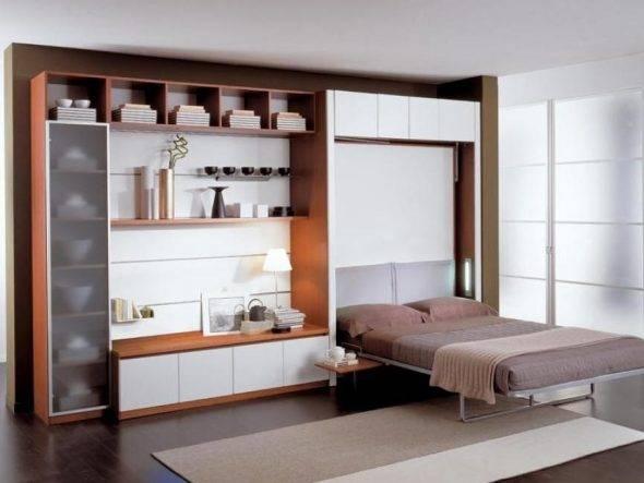 Экономим свободное место в малогабаритной квартире, сделав кровать-трансформер своими руками