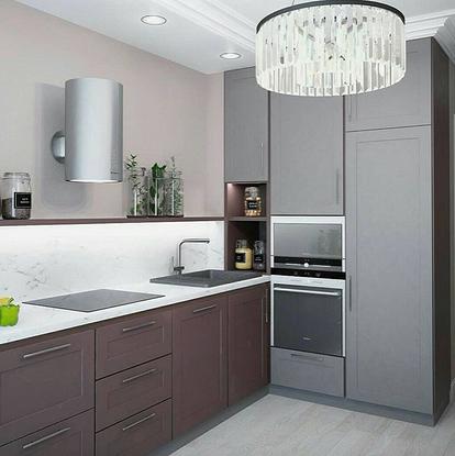 Что необходимо знать о дизайне кухни без навесных шкафов