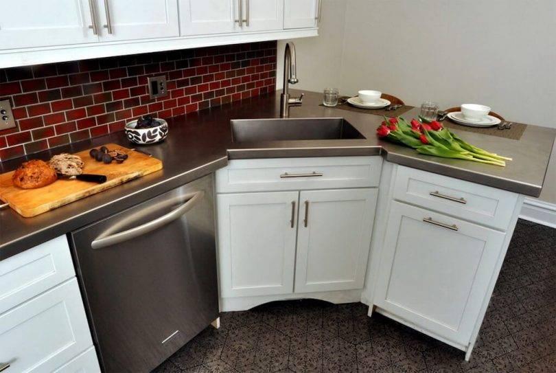 Разновидности шкафов под мойку для кухни, критерии выбора