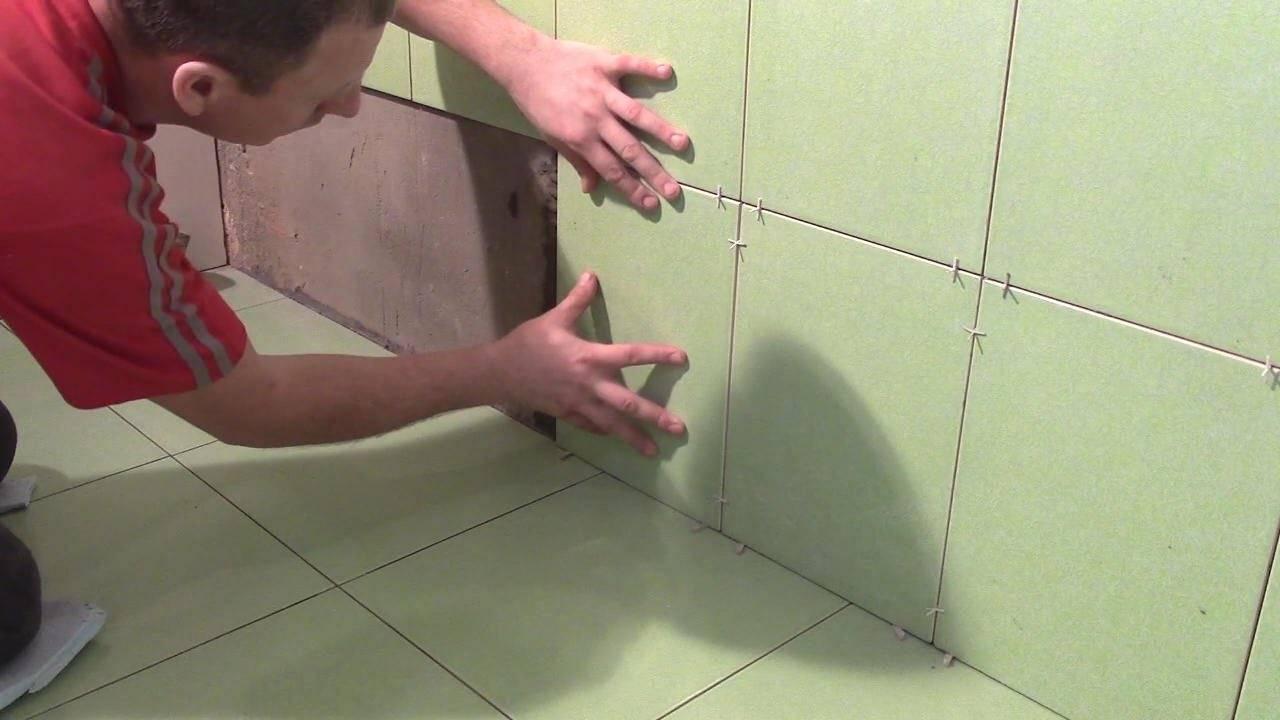 Укладка плитки своими руками: подобная инструкция для новичков и хитрости по укладке для мастеров