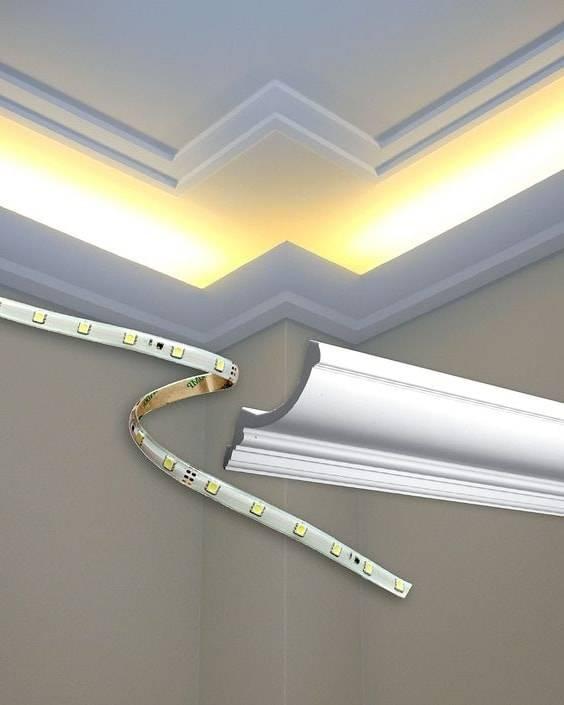 Применение светодиодных лент в домашнем интерьере