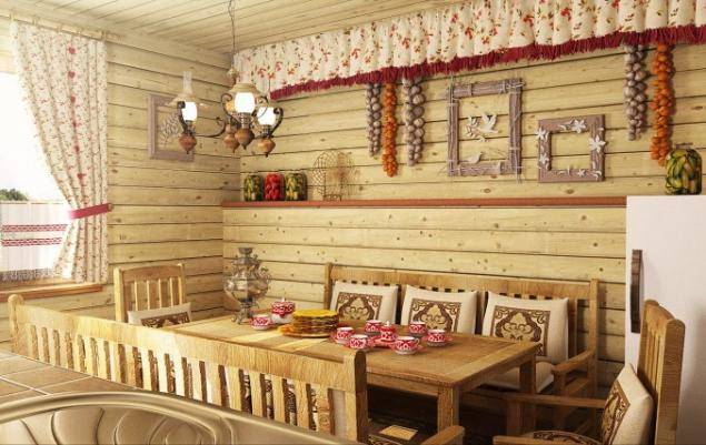 Деревенский шик кухни в стиле кантри