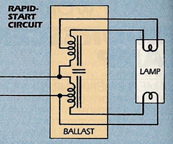 Схемы подключения люминесцентных ламп: с дросселем и без дросселя, 2-х и более ламп (фото & видео)