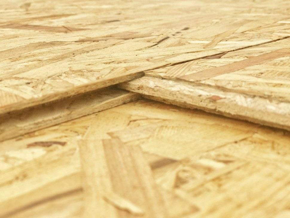 Подшивка потолка осб плитой