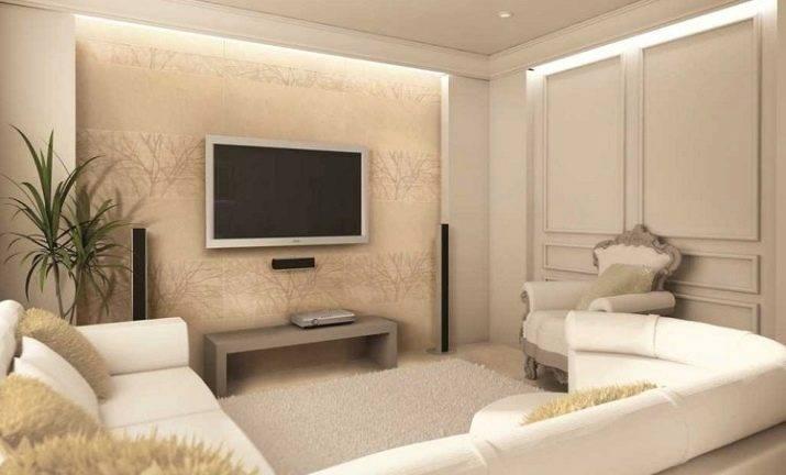 Телевизор на стене: нюансы размещения, выбор места расположения и правила оформления (95 фото)