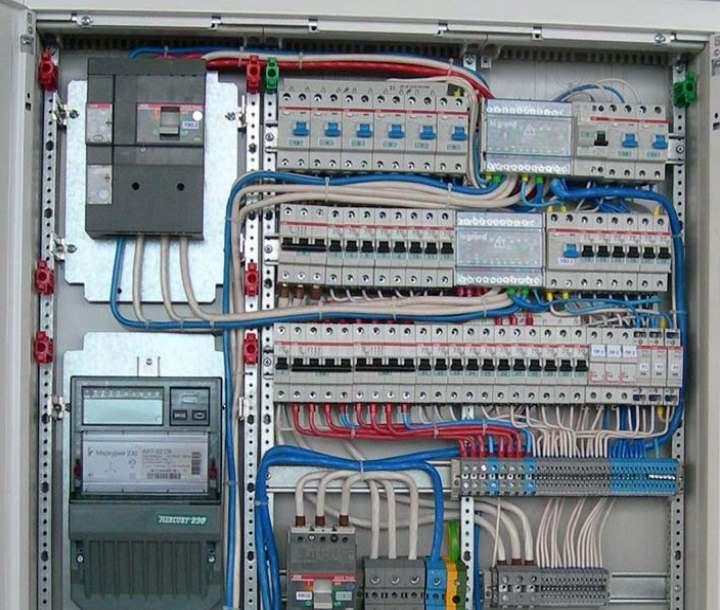 Расключение электрического щитка: схемы, сборка, монтаж
