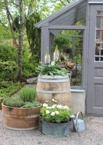 Цветочные горшки — идеи подбора дизайна для комнатных и садовых растений (65 фото)
