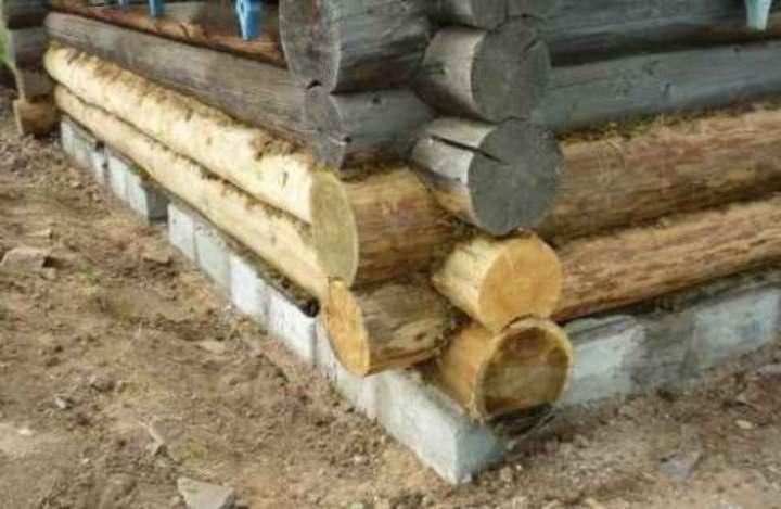 Лучший фундамент для деревянного дома своими руками и как выбрать