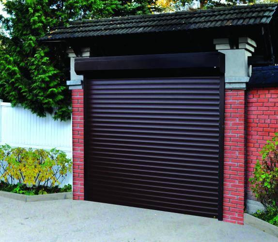 Ворота-рольставни на гараж: стальные рулонные гаражные изделия, металлические роллетные модели из германии, отзывы