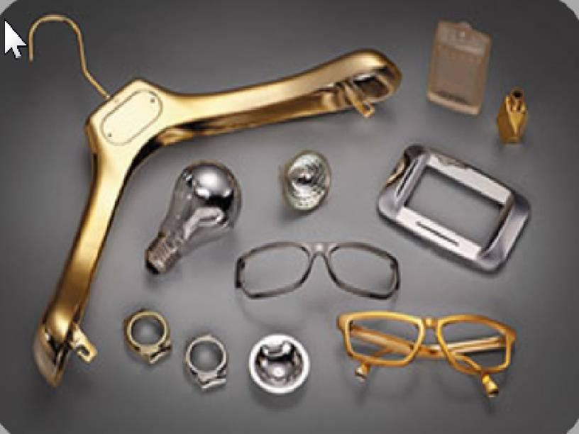 Хромирование деталей из пластика, метализация пластмассы