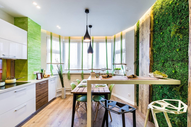 Современный интерьер в эко-стиле: особенности дизайна, фото