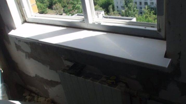 Инструкция по установке подоконника на пластиковые окна