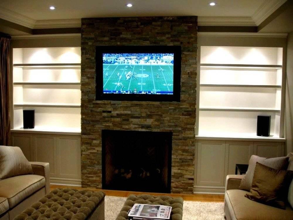 Как сделать стену из гипсокартона и на этой стене нишу под телевизор