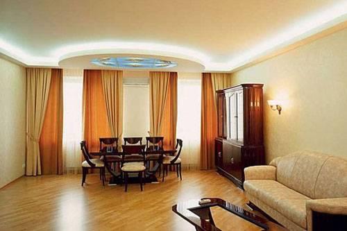 Как визуально увеличить высоту комнаты: проблема низких потолков