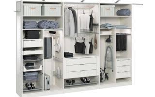 Внутреннее наполнение шкафа-купе для спальни - делай-шкаф.ру