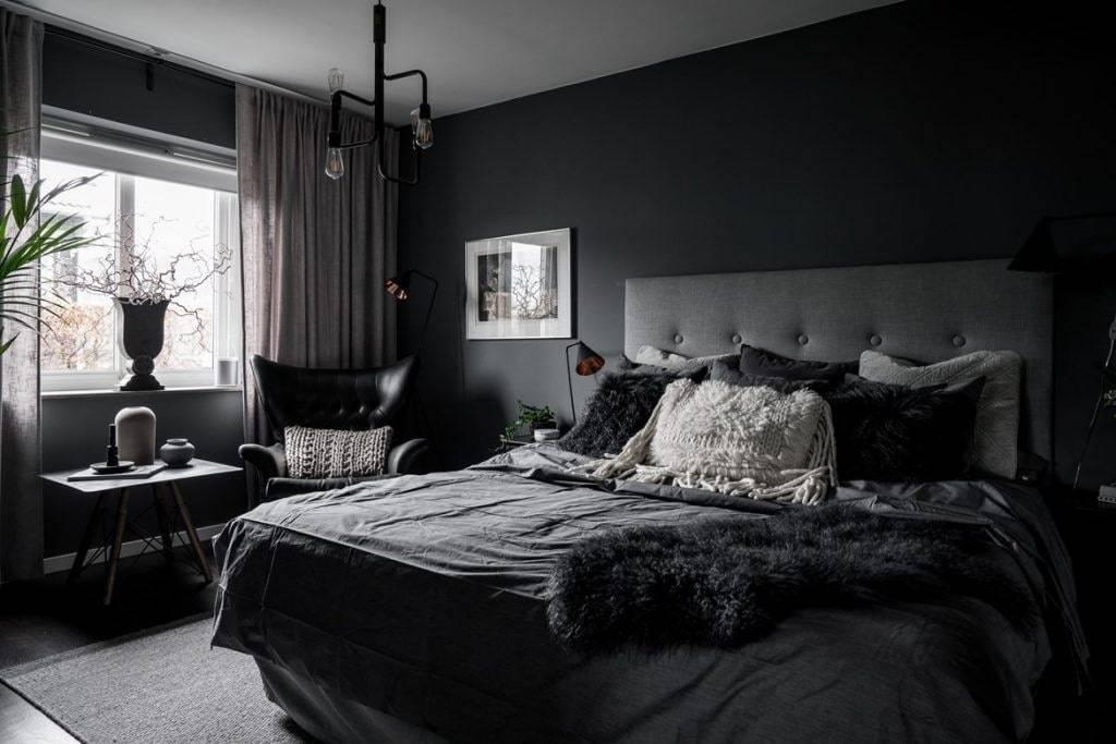 Темный интерьер – особенности оформления дизайна и примеры использования темных цветов в разных стилях