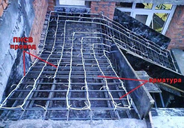 Схема подключения и технология прогрева бетона электродами