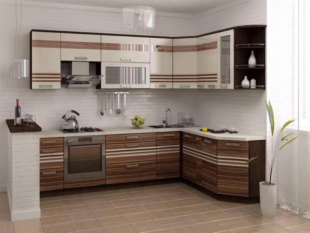 Кухни цвета зебрано в дизайне интерьера в сочетании с черным и серым