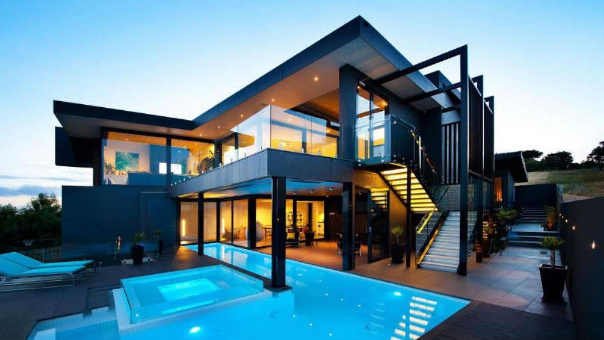 Самые роскошные дома в мире у моря