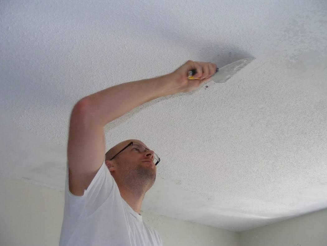 Как смыть побелку с потолка? как смывать со стен и как удалить с потолка, как снять быстро и как очистить поверхность без грязи
